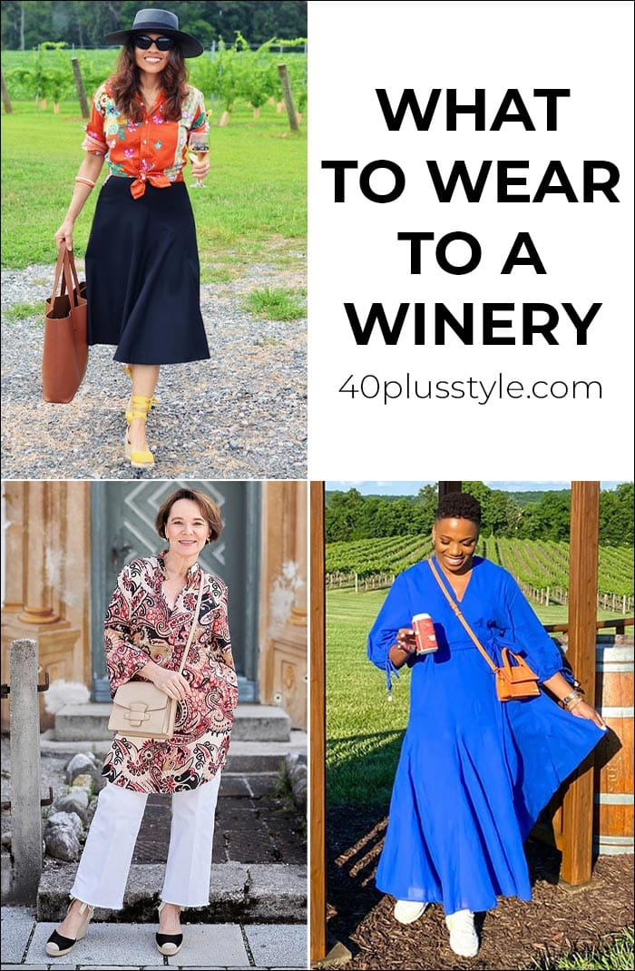 What to wear to a winery: The best winery outfits whether you love white, red or rosé   40plusstyle.com