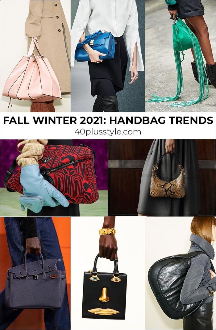 2021 handbag trends to carry into winter and fall   40plusstyle.com
