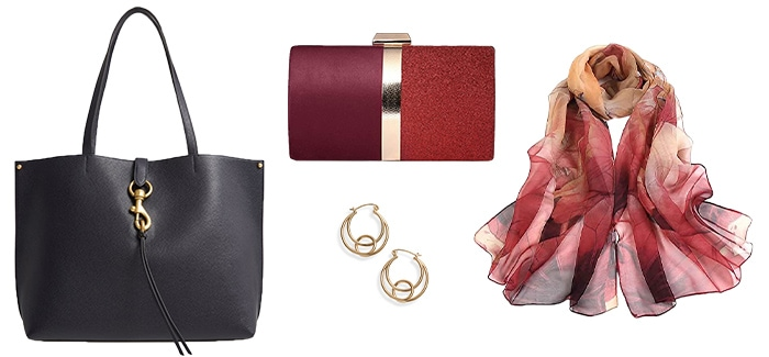accessories to wear with leather jackets | 40plusstyle.com