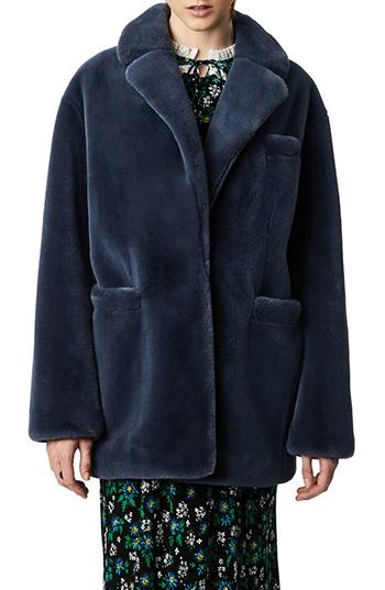 Bernie faux fur coat | 40plusstyle.com