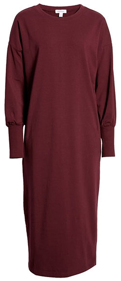 Nordstrom dolman midi dress | 40plusstyle.com