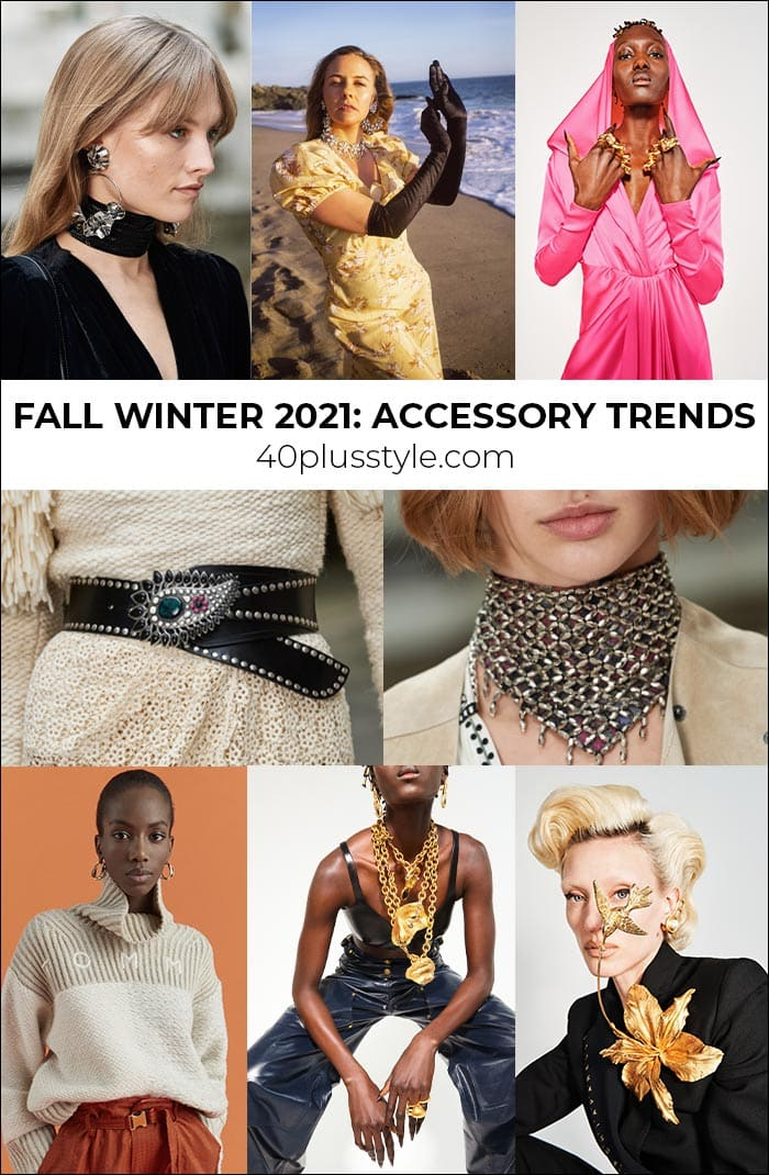 Accessory trends 2021: everything you need to finish off your outfit this winter and fall   40plusstyle.com