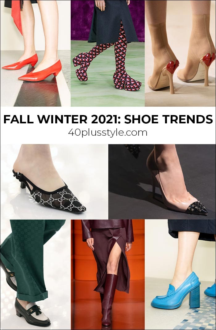 Shoe trends 2021: Fabulous boots and shoes to wear this Winter and Fall | 40plusstyle.com
