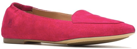Hush Puppies Hazel Pointe Suede Loafers | 40plusstyle.com