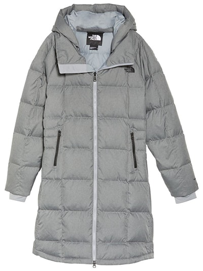 The North Face water repellent parka | 40plusstyle.com