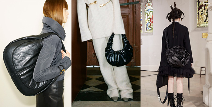 puffy bags / quilted | 40plusstyle.com