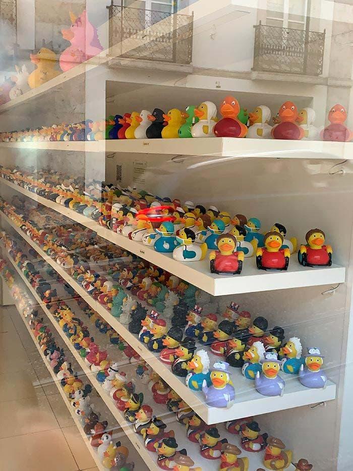 Tienda Rubber Duckie es Lisboa |  40plusstyle.com