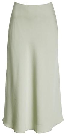 Nordstrom Signature silk skirt | 40plusstyle.com