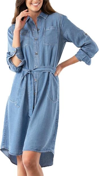 Stella Carakasi Perfect Shirt Dress   40plusstyle.com