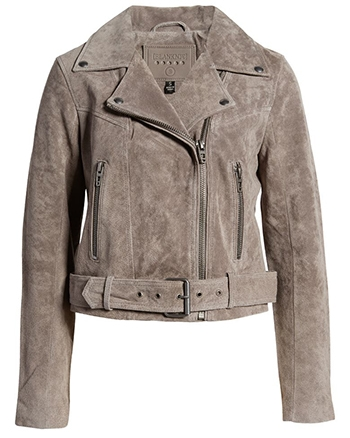 BLANKNYC suede moto jacket | 40plusstyle.com | 40plusstyle.com