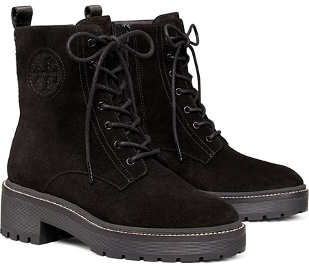 Tory Burch Miller Lug Sole Platform Boot | 40plusstyle.com