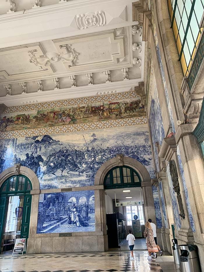 Train Station in Porto Portugal   40plusstyle.com