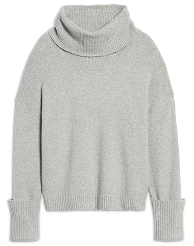 Treasure & Bond drape turtleneck sweater | 40plusstyle.com
