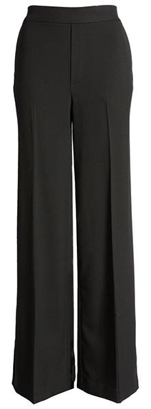 Nordstrom wide leg flannel pants | 40plusstyle.com
