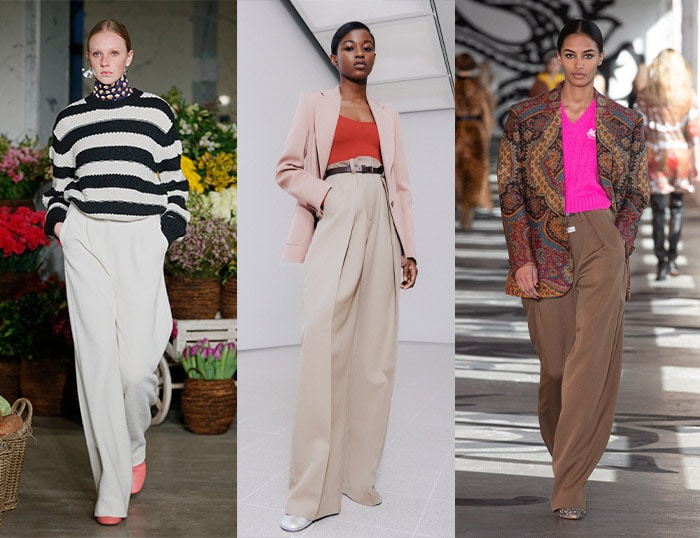 Wide trousers | 40plusstyle.com