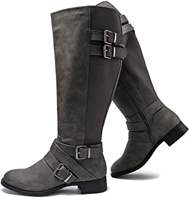 Luoika Extra Wide Calf Winter Boots   40plusstyle.com