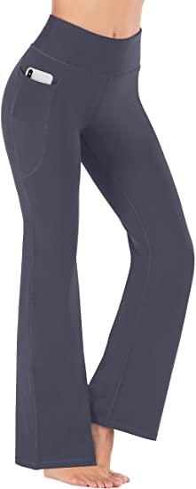 Heathyoga Bootcut Yoga Pants | 40plusstyle.com