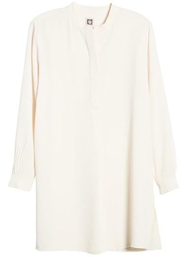 Anne Klein tunic shirt | 40plusstyle.com