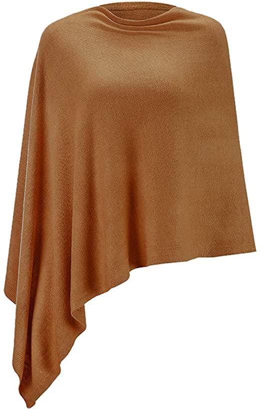 Fomolom poncho sweater | 40plusstyle.com