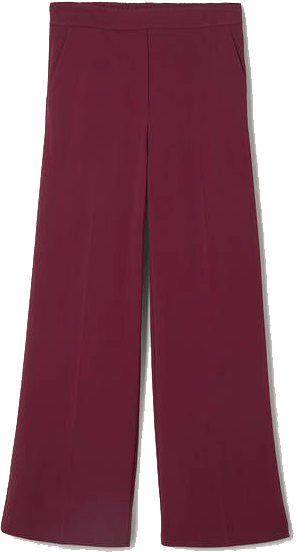 Boden Mulled Wine Wide Leg Pants | 40plusstyle.com
