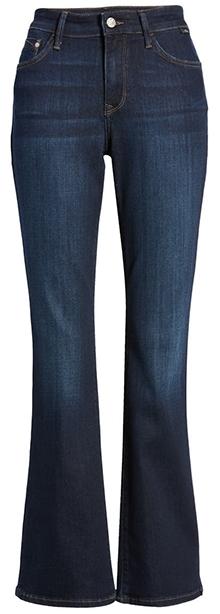 Mavi Jeans Marcia Crop Bootcut Jeans | 40plusstyle.com