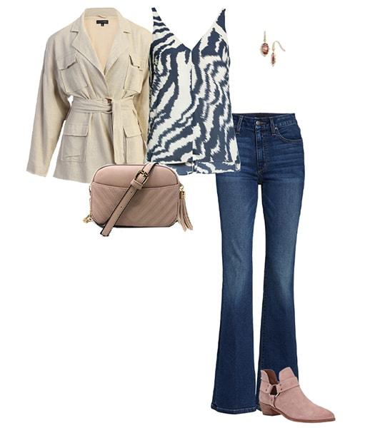 Bootcut-Jeans und Stiefeletten |  40plusstyle.com