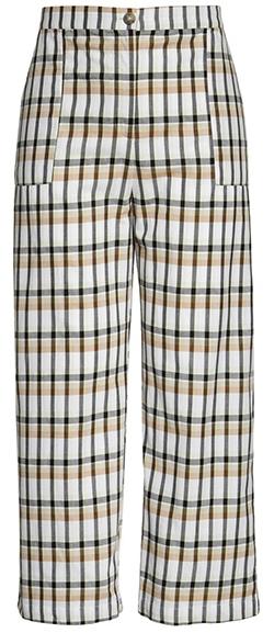 BP. Crop Plaid Pants | 40plusstyle.com