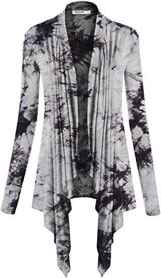 Lock and Love draped open front cardigan | 40plusstyle.com