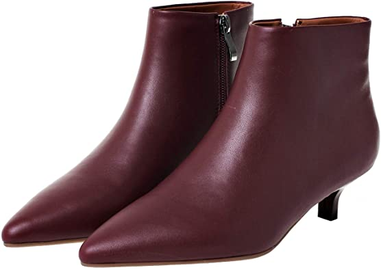 best winter boots for women - kitten heel boots   40plusstyle.com