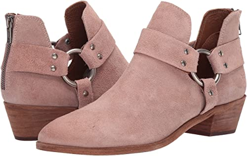 Frye Ray Harness Back Zip Ankle Boot | 40plusstyle.com