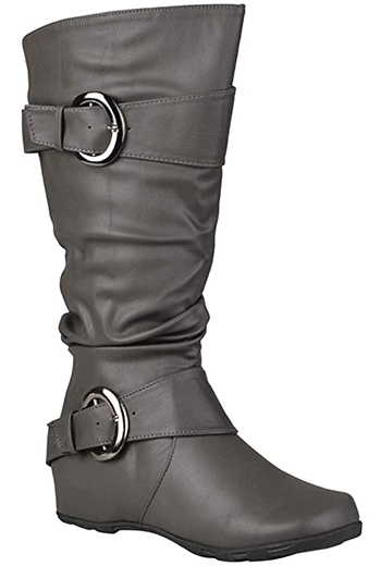 Journee Collection Stormy Extra Wide Calf Boot   40plusstyle.com