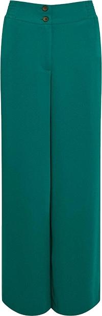Karen Millen Essential Tailored Wide Leg Woven Trousers | 40plusstyle.com