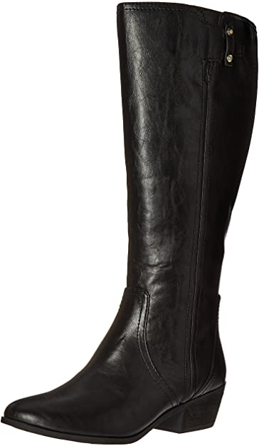 Dr. Scholl's Brilliance Wide Calf Riding Boot   40plusstyle.com