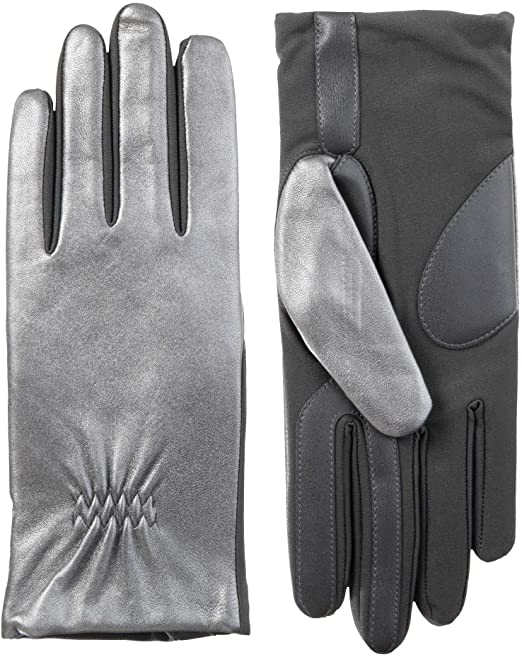 isotoner Leather Gloves | 40plusstyle.com