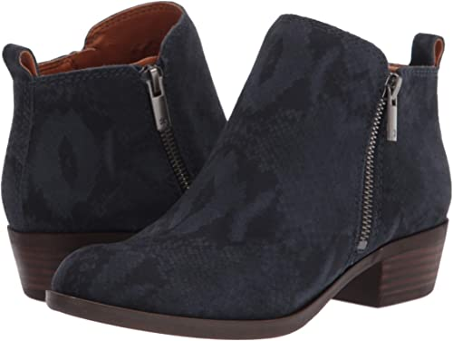 Lucky Brand Basel Ankle Bootie | 40plusstyle.com