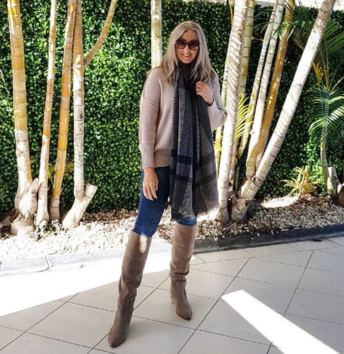 2021 winter essentials - a scarf | 40plusstyle.com