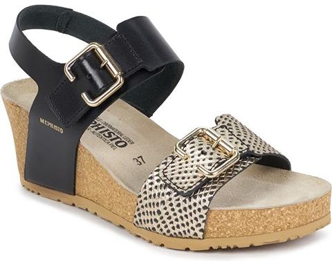Mephisto Lissandra Platform Wedge Sandal | 40plusstyle.com