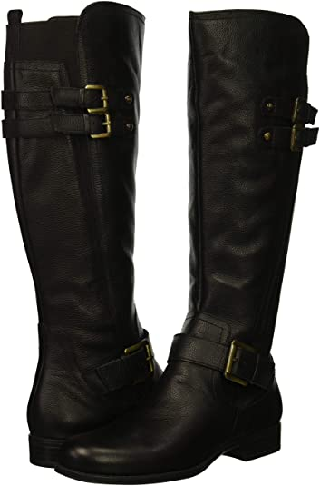 Naturalizer Jessie Knee High Boot with arch support | 40plusstyle.com