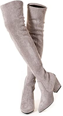 N.N.G Winter Over Knee Long Boots   40plusstyle.com