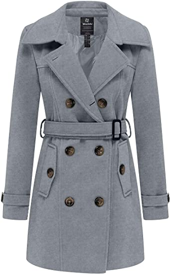 Wantdo double breasted pea coat | 40plusstyle.com
