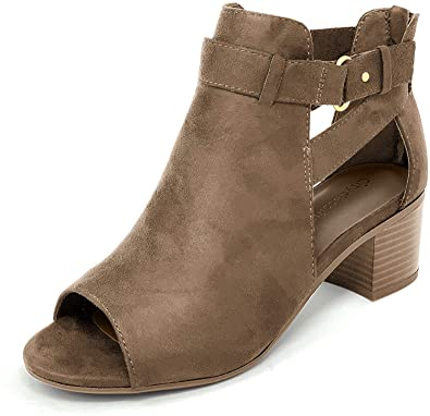 City Classified Comfort Peep Toe Sandal   40plusstyle.com