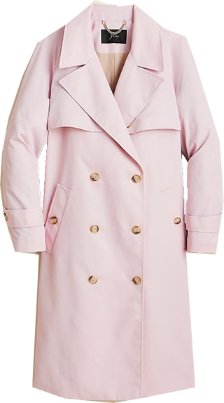 J.Crew relaxed trench coat | 40plusstyle.com