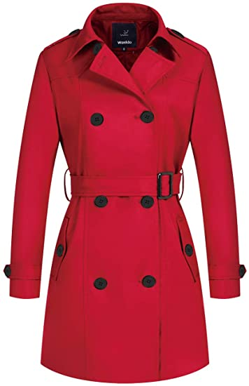 Wantdo double breasted trench coat | 40plusstyle.com