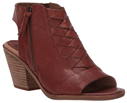 Söfft Mckenna Luggage Sandal Bootie with arch support | 40plusstyle.com