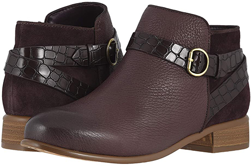 Softwalk Raveena Bootie with arch support   40plusstyle.com