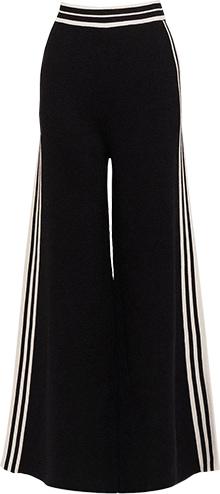 Karen Millen Milano Knit Sporty Trim Trouser | 40plusstyle.com