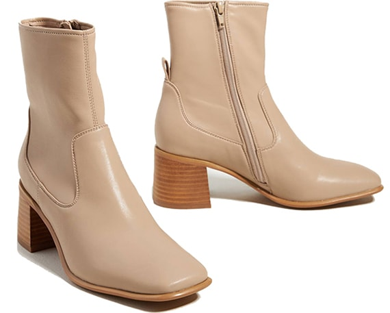Jeffrey Campbell Square-Toe Ankle Boots | 40plusstyle.com