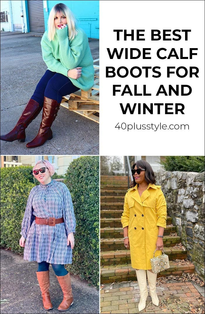 The best wide calf boots this winter and fall   40plusstyle.com