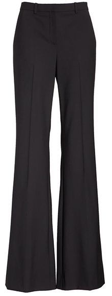 Theory Demitria 2 Stretch Good Wool Suit Pants | 40plusstyle.com