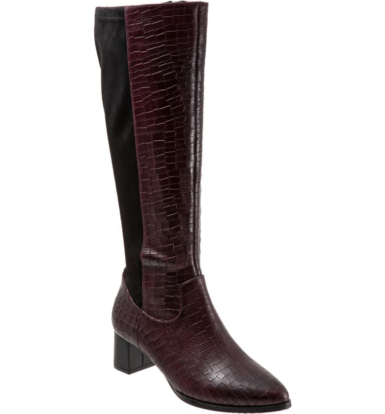 Trotters Kirby Knee High Boot   40plusstyle.com